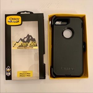 OtterBox Defender Black Case IPhone 7/8 Plus